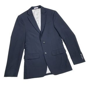J.Ferrar Suit Jacket/Coat, 34R, Navy Blue